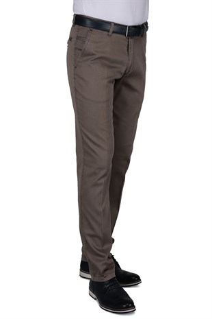 Buenza Ruby Sulfur Casual Slim Fit Pantolon -  Bej
