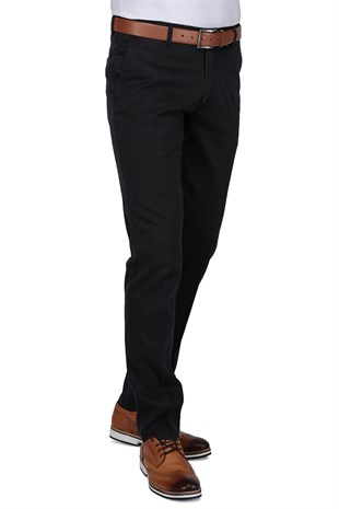 Buenza Ruby Sulfur Casual Slim Fit Pantolon -  Fume